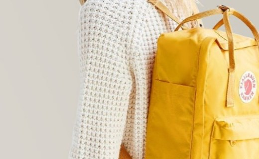 北极狐Kanken双肩包:经典百搭款式,是背包更是潮人单品