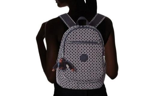 凯普林双肩背包:面料轻质柔软,绚丽配色时尚百搭