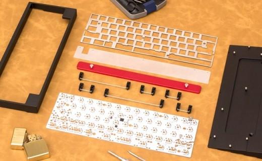 自己组装的键盘,才能得心应手,机械键盘客制化套件组装