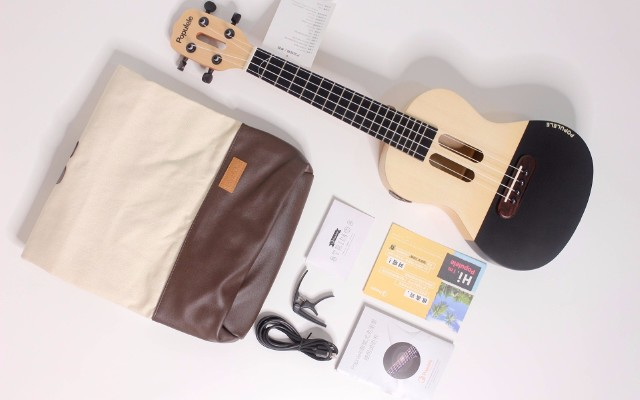 像玩节奏大师一样学乐器,游戏中get撩妹神技 — Polulele 智能尤克里里上手体验