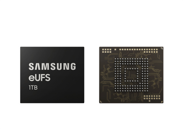 20倍储存容量,每秒1GB高速传输:三星宣布1TB级UFS2.1闪存量产