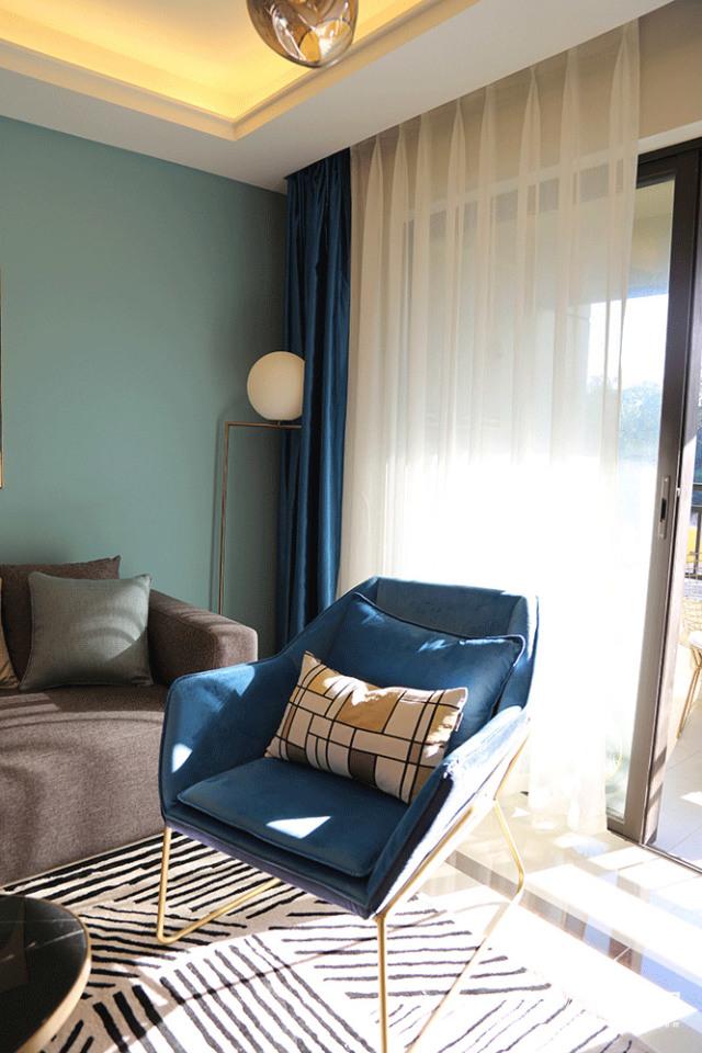 柏悦家具北欧简约风三人沙发