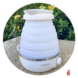 北欧欧慕电水壶体验:双电压煮水,还能折叠   视频