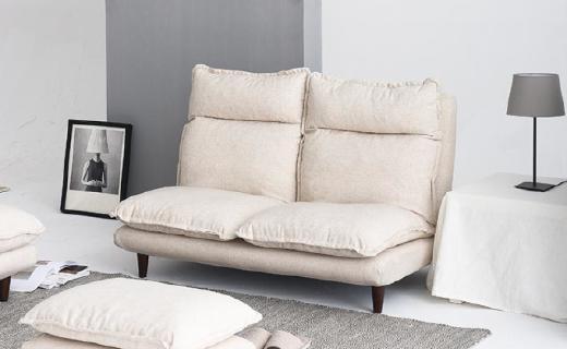 网易严选云端沙发:多种排列组合方式,优质海绵柔软舒适