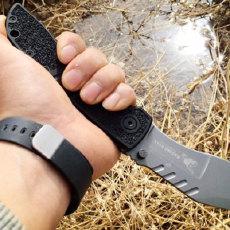 带上这把刀,把你扔在无人荒野也能活下去  — 汉道蛮牛折刀体验