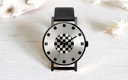 Klasse14ALCHEMY手表:316L精钢拉丝表盘,牛皮表带柔软