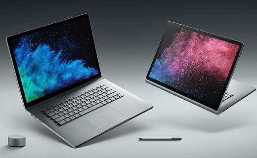 微软发布Surface Book 2,性能比上代强5倍