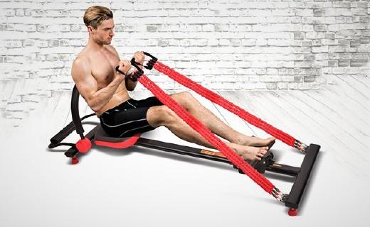 凯速简易划船器:划走麒麟臂练出小细腿,安装简易可移动