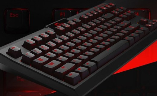 芝奇KM560机械键盘:芝奇背光原厂轴,人性化全键无冲