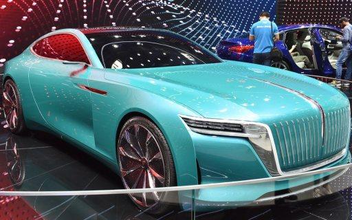 北京车展 | 红旗E·境GT概念车发布,未来将推量产版跑车