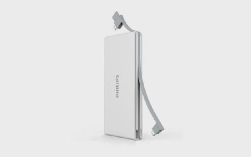 飞利浦移动电源,20000毫安大容量,充满iPhone只需40分钟