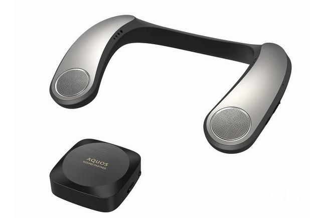 吸睛利器!夏普推出颈挂式耳机,低音单元+低延迟,实用又靓眼