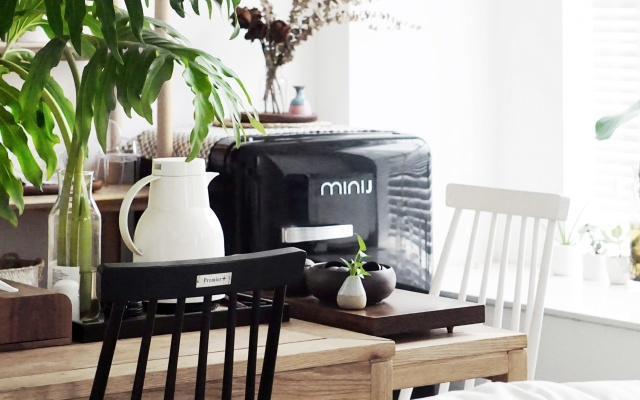 颜值爆表的复古小冰箱,自由控制温度能耗低