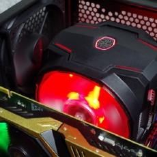 """299块给主机装""""空调"""",RGB灯效堪比夜店灯光 — 酷冷至尊T610P CPU风冷散热器评测"""
