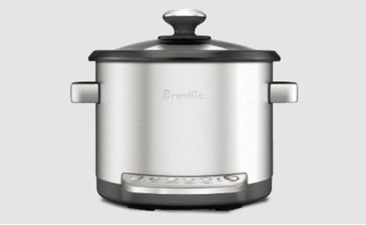 Breville BRC600电煮锅:炖煮蒸一个搞定,带有自动保温