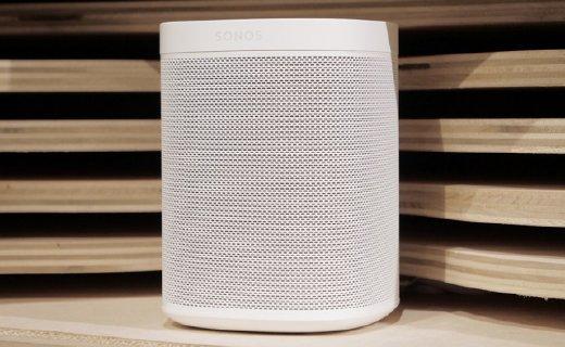 Sonos发布智能新音响!支持谷歌亚马逊两巨头