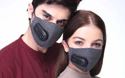 自带新风系统的防霾口罩,告别湿热憋气