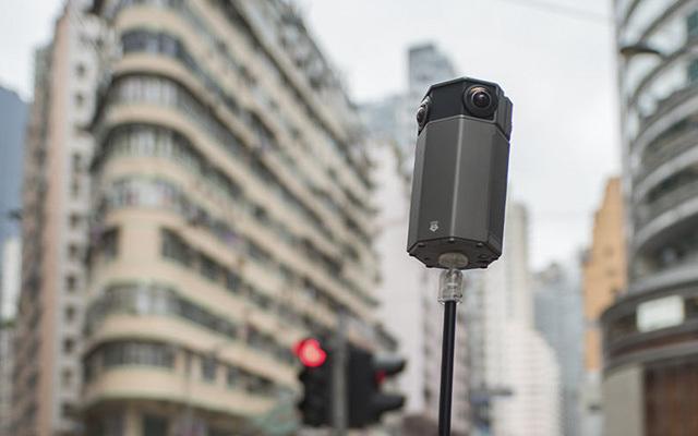 360度全景行摄香港街头,全度VR相机体验