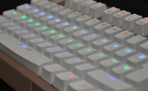 雷柏V510S机械键盘:背光防水全无冲设计,为游戏量身定制