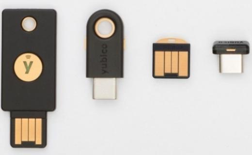 YubiKey5系列四款新品發布:小巧耐用,支持FIDO2