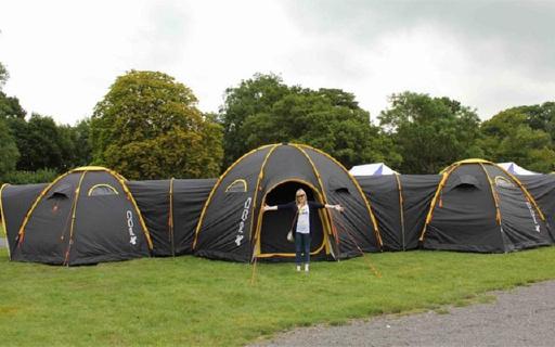 N室1厅的连体帐篷,户外聚会有大house啦