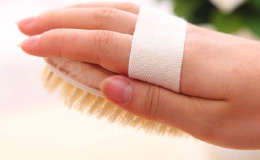 咖迪猪鬃毛沐浴刷:有效清洁去角质,缓除身体疲劳