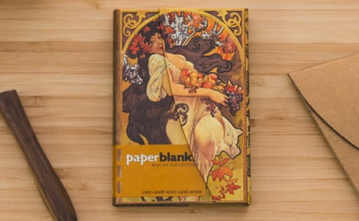 Paperblanks笔记本:高品质无酸纸,华丽外观书写顺畅