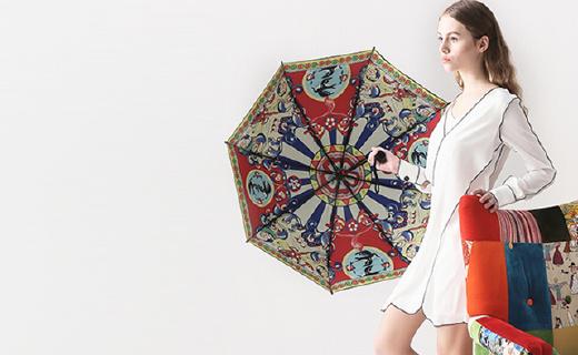 离开你自动警报的智能伞,颜美速干还能照明