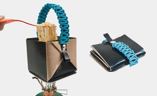能装进口袋的户外折叠锅,重量比iPhone还轻!