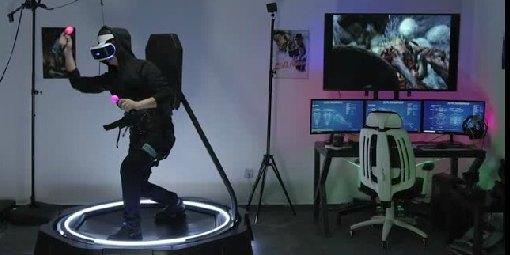 VR跑步机KAT Walk Mini发布了:让你变身头号玩家!