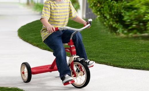 Radio Flyer儿童脚踏车:坚固防倾翻,美国品牌质量杠杠的