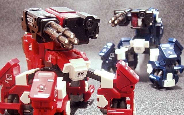 进击吧!四脚战车!工匠社遥控机器人评测