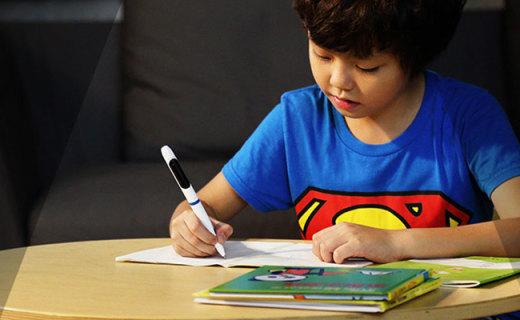 Witspal智能笔:纠正握姿坐姿,可统计用笔时间带有休息提醒