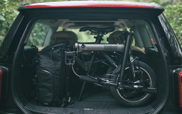 700Bike 银河MINI 折叠自行车