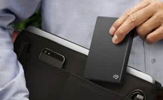 希捷Backup Plus移动硬盘:5TB大容量,USB3.0接口超快传输