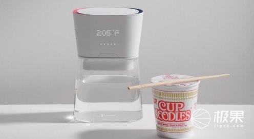 智能水壺亮相CES2019!精確控制水溫,再也不擔心沒水喝