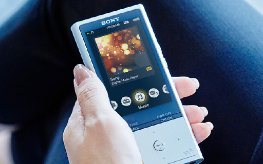 索尼NW-ZX100,你的随身HiFi发烧神器,精致小巧还能降噪