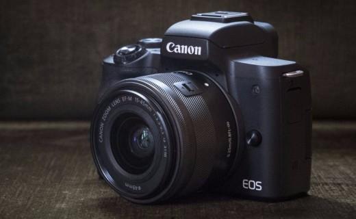 佳能发布无反相机EOS M50,高性能入门款!