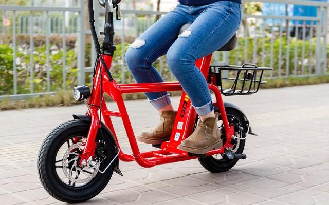 电动车中的MINI COOPER,能骑着逛超市 — FIIDO迷你电动车体验