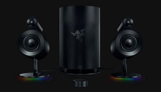 游戏发烧友的福音,RAZER雷蛇新品天狼星专业版 2.1 多媒体游戏音箱发售