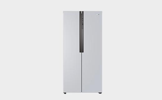 海尔超纤薄对开门冰箱,小体积大容量,一天只要0.95度电