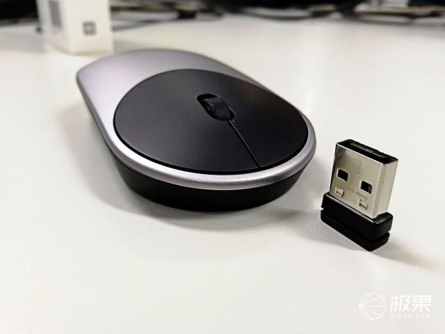 小米(MI)鼠标【现货速发】小米(MI)鼠标小米笔记本鼠标轻薄便携鼠标双模式连接鼠标小米鼠标-银色送【鼠标垫】