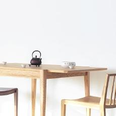 吱音 森叠实木折叠 餐桌