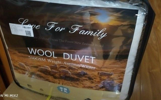 舒适保暖的羊毛保暖被,无异味呵护家人健康