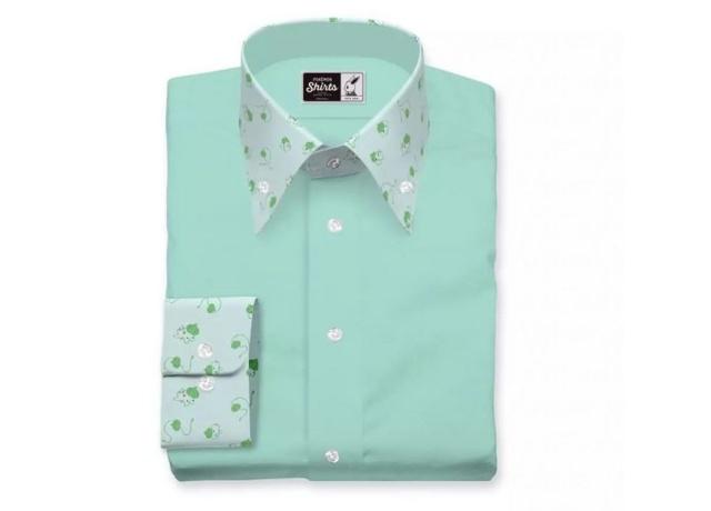 宝可梦首款联名衬衫,151种图案自由定制,白领上班也能穿...