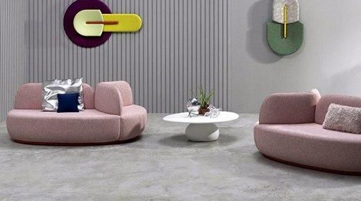 带隔断设计的沙发,让每个人拥有属于自己的小世界