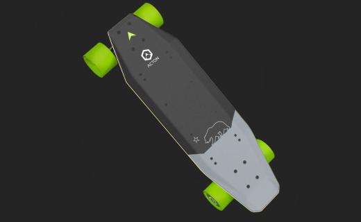 小米众筹上架智能滑板:仅重5公斤,续航12km