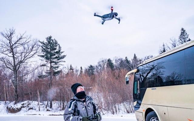 航拍雪乡!-20℃玩大疆 Mavic Pro是何种体验   视频