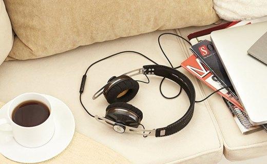 森海塞尔头戴式耳机:舒适耳罩久听不累耳,声音丰富细腻低音强