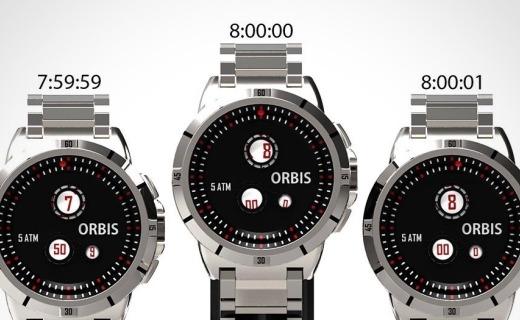 """无针设计的手表,在表盘上打造一个""""太阳系""""!"""